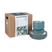 Denby Azure Haze 12 Piece Coupe Box Set