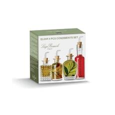 Luigi Bormioli Optima Elixir Condiments Set
