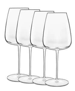 Luigi Bormioli Talismano Bordeaux Glass 70cl Set Of 4