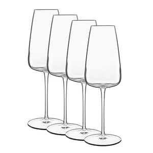 Luigi Bormioli Talismano Prosecco Glass 40cl Set Of 4