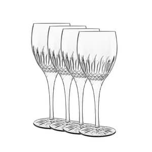 Luigi Bormioli Diamante Riesling White Wine Glass 38cl Set Of 4