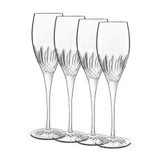 Luigi Bormioli Diamante Champagne/Prosecco Glass 22cl Set Of 4