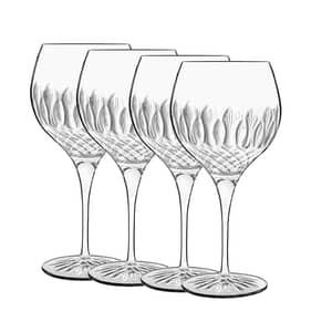 Luigi Bormioli Diamante Gin Glass 65cl Set Of 4