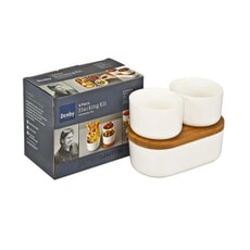 Denby James Martin - 4 Piece Bamboo Stacking Kit