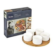 Denby James Martin - 6 Piece Bamboo Round Kit