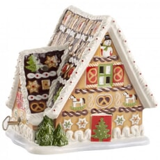 Villeroy and Boch Christmas Toys Musical Gingerbread House
