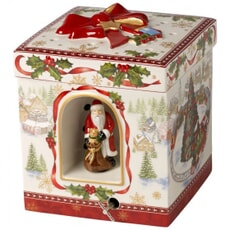 Villeroy And Boch Christmas Toys Large Square Gift Box Train