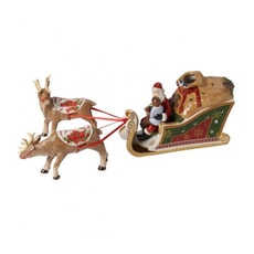 Villeroy And Boch Christmas Toys Sleigh Santas Gifts