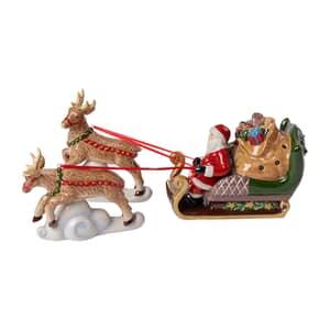 Villeroy Boch Christmas Toys Sleigh North Pole Express 36x14x17cm