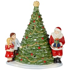 Villeroy and Boch Christmas Toys Santa on tree 20x17x23cm
