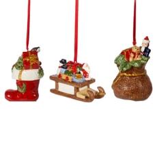 Villeroy and Boch Nostalgic Ornaments ornament set presents