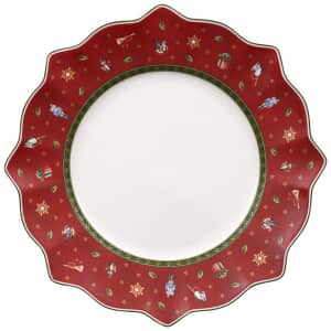 Villeroy and Boch Toys Delight Flat Plate Red