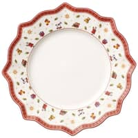 Villeroy and Boch Toys Delight Flat Plate White