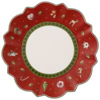 Villeroy and Boch Toys Delight Bread And Butter Plate Red