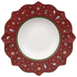 Villeroy and Boch Toys Delight Deep Plate Red