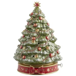 Villeroy and Boch Toys Delight Christmas Tree Musical Clock