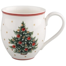 Villeroy and Boch Toys Delight Set Of 2 Mugs Xmas Tree