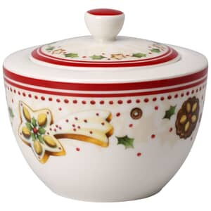 Villeroy and Boch Winter Bakery Delight Covered Sugarpot
