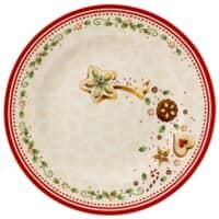 Villeroy and Boch Winter Bakery Delight Salad Plate Falling Star