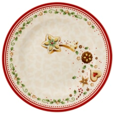 Villeroy and Boch Winter Bakery Delight Salad Plate Falling Star