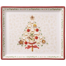 Villeroy and Boch Winter Bakery Delight Rectangular Cake Platter Small