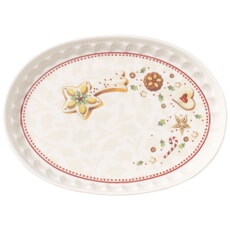 Villeroy and Boch Winter Bakery Delight Oval Saucer