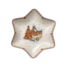 Villeroy and Boch Winter Bakery Delight Star bowl gingerbread village M