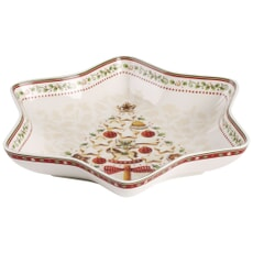 Villeroy and Boch Winter Bakery Delight Medium Star Bowl Tree