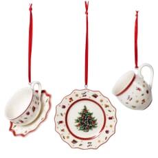 Villeroy and Boch Toys Delight Decoration Ornaments Tableware Set 3pcs