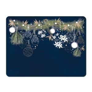 Denby Let It Snow Placemats Set Of 6