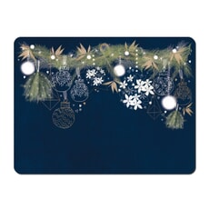 Denby Let It Snow Placemats Set Of 6