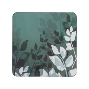 Denby Colours Green Foliage Coasters Set Of 6