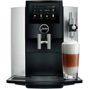 Jura S8 Coffee Machine Moonlight Silver