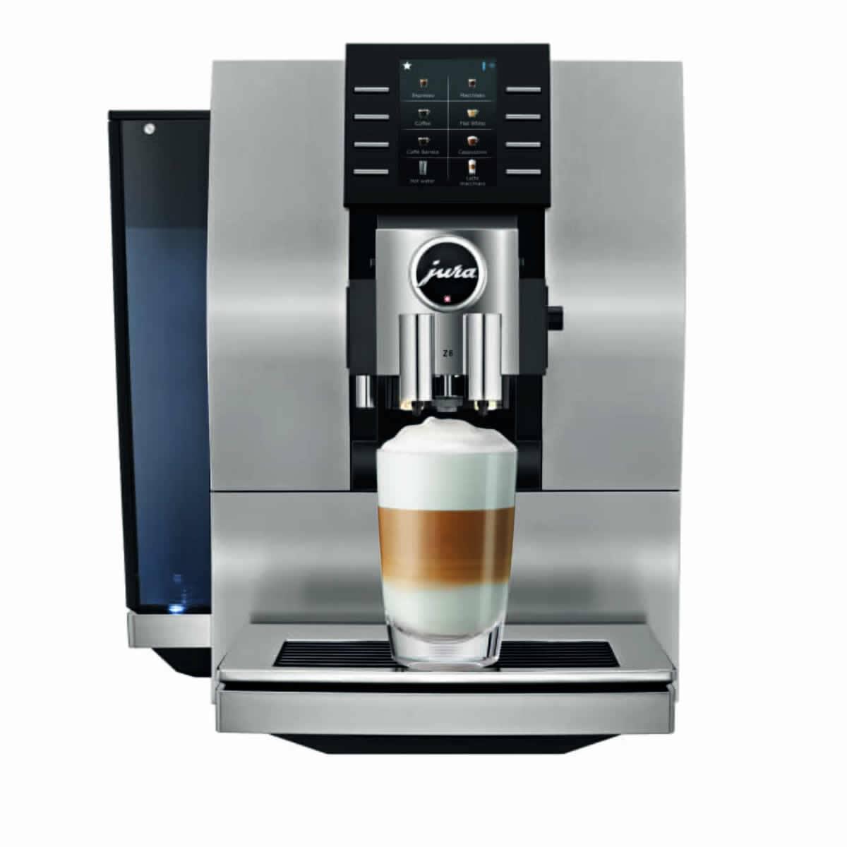 Jura Z6 Coffee Machine Aluminium