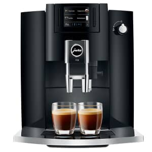 Jura E6 Coffee Machine Piano Black