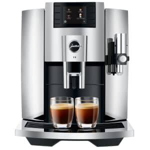 Jura E8 Coffee Machine Chrome