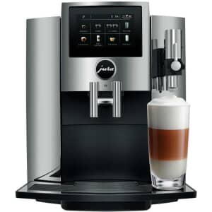 Jura S8 Coffee Machine Chrome