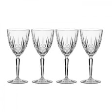 Waterford Marquis Sparkle White Wine Glasses Set Of 4