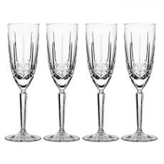Waterford Marquis Sparkle Champagne Glasses Set Of 4