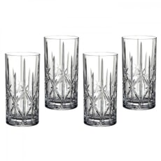 Waterford Marquis Sparkle Hignball Glasses Set Of 4