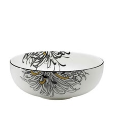 Denby Monsoon Chrysanthemum Serving Bowl