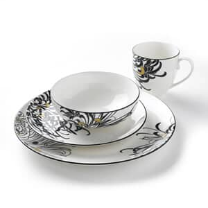 Denby Monsoon Chrysanthemum 16 Piece Box Set