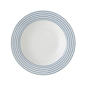Laura Ashley Blueprint Collectables - Candy Stripe 22cm Deep Plate