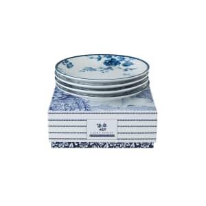 Laura Ashley Blueprint Collectables - 4 Petit Four Plates