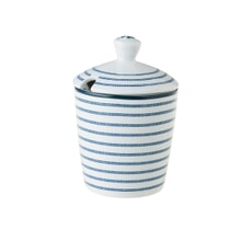 Laura Ashley Blueprint Collectables - Candy Stripe Sugar Bowl