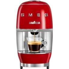 Smeg Lavazza Coffee Machine Red
