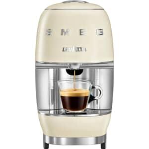 Smeg Lavazza Coffee Machine Cream