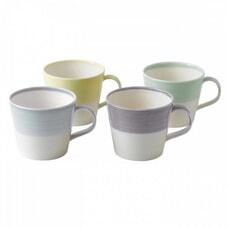 Royal Doulton 1815 Set Of 4 Light Coloured Mugs