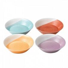 Royal Doulton 1815 Brights Set Of 4 Pasta Bowls