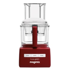 Magimix Cuisine Systeme 4200xl Deep Red With Blendermix